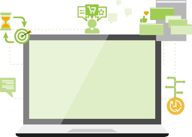 De nombreuses options de personnalisation & de segmentation avancée